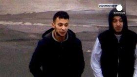 Pařížského teroristu Abdeslama zachytila kamera. Po atentátu měl ruce v kapsách