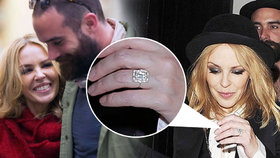 Kylie Minogue je prý zasnoubená! Vyslovil se její o dvacet let mladší zajíček?