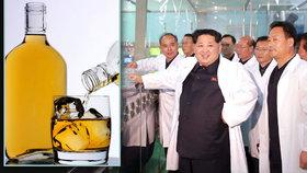 Kimův chlast je slast: Severní Korea se dušuje, že vyrobila tvrdý alkohol bez kocoviny