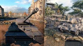 Tankové bitvy z World of Tanks hřmí už i na PlayStation 4. Opět zdarma