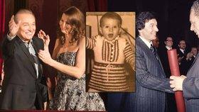 Fotky Gottové z dětství: Když se učila chodit, Karel už byl zasloužilý umělec!