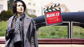 Čtvrteční filmové premiéry: Na kinoplátnech nás okouzlí Lída Baarová