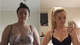 Vážila jako slůně: Během devíti měsíců shodila 30 kilogramů!