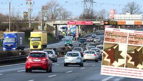 Pozor na falešné dálniční známky. Padělky prozradila chyba v němčině