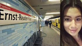 Krásnou studentku (†20) shodil zákeřně pod metro Íránec, zaútočil zezadu