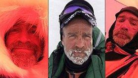 Chřadl na Antarktidě den po dni. Selfie ukazují utrpení kamaráda prince Williama před smrtí