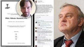 """""""Věděl příliš o židoku*vách"""": Komunista skládal poklony Ransdorfovi"""