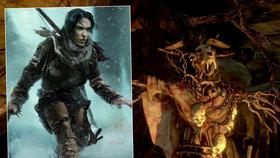 Lara Croft vs. baba Jaga: Tomb Raider se změnil v hororovou pohádku