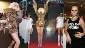 """""""Blbá blondýna"""" Iva Pazderková jako Lady Gaga. Při tanci ukázala kalhotky"""