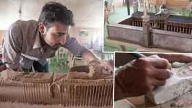 Vzpomínky ze špejlí od kebabu: Uprchlíci znovu staví to, co ISIS zničil