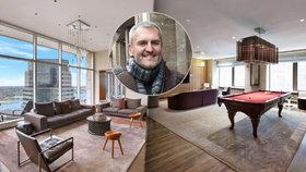 Doupě českého Vlka z Wall Street: Petr Sisák se zašíval v apartmánu za 50 milionů