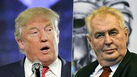 Řekl to Trump, nebo Zeman? Vlivný americký list má kvíz z jejich výroků