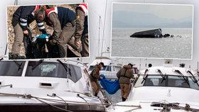 V Egejském moři našlo smrt 39 migrantů. Putovali z Turecka na řecký ostrov Lesbos