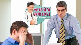 Sexuální poradna: Šéf mě načapal v práci s erekcí!