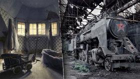 Podívejte se na místa, kde se zastavil čas! Fotografka zachycuje mystickou krásu opuštěných budov