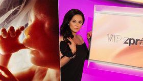 """VIP zpráva Něrgešové o pohlaví miminka: """"Vidíte to kávové zrno?"""" ptal se gynekolog"""