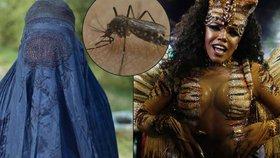 Jak se ochránit před virem zika? Noste burku, radí brazilští lékaři