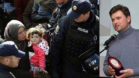 Uprchlíci časovanou bombou? České svědectví z hranic je přehnané, tvrdí Slovinci