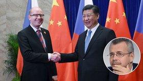 Čínský prezident se cestou do USA zastaví v Praze. Koupí Číňané Unipetrol?