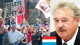Lucembursko se navezlo do ČR: Nebuďte odpadlíky, přijměte uprchlíky