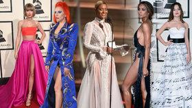 To nejlepší z Grammy 2016: Sněhová víla Beyoncé, polonahá Ciara a Lady Gaga jako David Bowie
