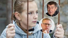 Ministři vs. dětští vrazi: Kdo by nechal pykat mladší 15 let?