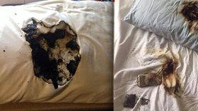 Děsivé snímky: Takhle to může dopadnout, když si dáte telefon pod polštář!
