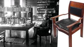 Posaďte se jako Masaryk: Jeho křeslo se bude dražit! Vyvolávací cena je 150 tisíc