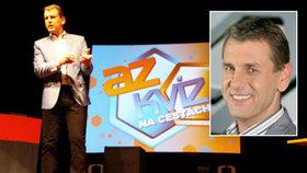 Moderátor AZ-kvízu Aleš Zbořil (47): Občas soutěžící zastaví vysílání kvůli sporům!