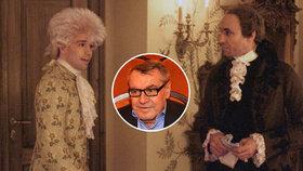 """Udělal Forman v Amadeovi chybu? """"Počkám, až se vyjádří Mozart,"""" uhýbá režisér"""
