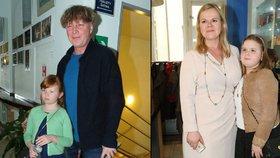 Michal Dlouhý a Sabina Remundová ukázali dcery. Jsou jim podobné?