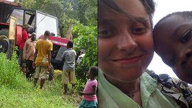 Vozík, kněz a dva traktory. Ladislavu na cestě Tanzanií nezastavil ani handicap