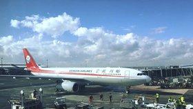 Další letecký spoj Prahy s Čínou. Do Čcheng-tu odletí zatím dvakrát