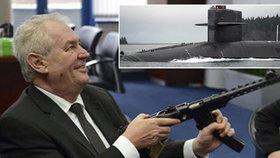 Zaorálek popřel dohodu se Zemanem o Norsku. A prezident čeká na atomovou ponorku