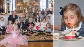 Královské mecheche: Takto švédské princezničky slavily narozeniny!