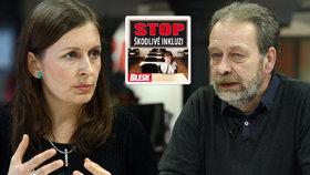 Ministerstvo i neziskovky po kampani Blesku otáčejí: Plošnou inkluzi nechceme