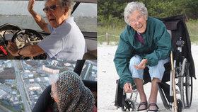 Babičce (90) zjistili smrtící rakovinu: Léčbu odmítla a vydala se na cestu svého života