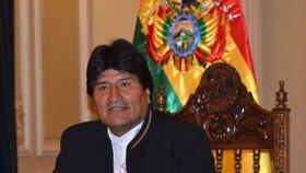 Prezident Bolívie chce vidět syna: Myslel, že je mrtvý
