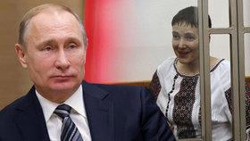 """Hladovějící pilotka vzkázala Rusům: """"Rozsudek se mnou vyhlásíte až posmrtně."""""""