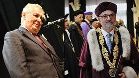 Zemanův kritik končí. Lídr odporu rektorů proti Hradu už nebude šéfem univerzity