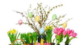 Přivítejte jaro velikonočními dekoracemi! Jak si jednoduše zkrášlit byt?