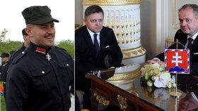 Neonacista Kotleba se obul do Kisky. Prezident pověřil Fica sestavením vlády