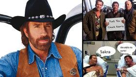 Chuck Norris je zase o rok starší, ale neříkejte mu to! 76 faktů, které jste netušili