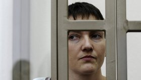 Stav ukrajinské pilotky Savčenkové je vážný. Převoz by nemusela přežít