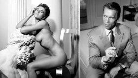 Nahá Elizabeth Hurley či mladý Arnold Schwarzenegger: Unikátní fotografie hvězd putují do aukce