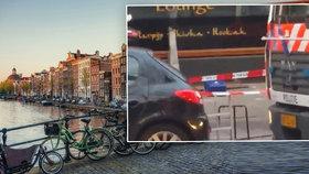 Výhrůžky v Amsterdamu: Na chodce se dívala uříznutá lidská hlava