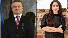 Manželka kancléře Mynáře Alex se vrací do televize! Rok po porodu