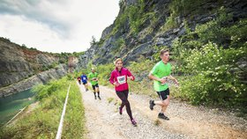 Modřanská rokle hostí třetí ročník běžeckého závodu. Na výběr jsou dvě trasy