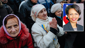 Diplomatka USA radí chudým Ukrajincům: Zkuste Afriku a budete zářit štěstím