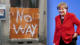 Migranti měli zkusmo volit, ale zazdili jim vchod. A Merkelovou čeká test